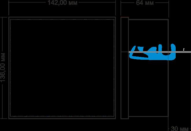 Габаритные размеры МАВР-3-1