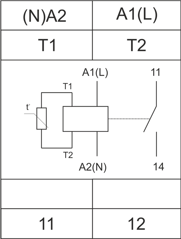 Схема подключения РТЗ-1М