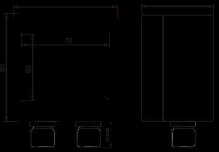Габаритные размеры ТР-30