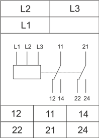 Схема подключения РКФ-М05-1-15