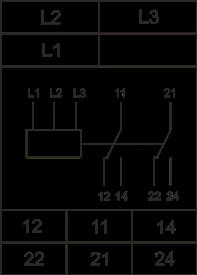 Схема подключения РКФ-М06-12-15