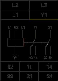 Схема подключения РКФ-М08-1-15