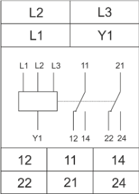 Схема подключения РКФ-М08-2-15