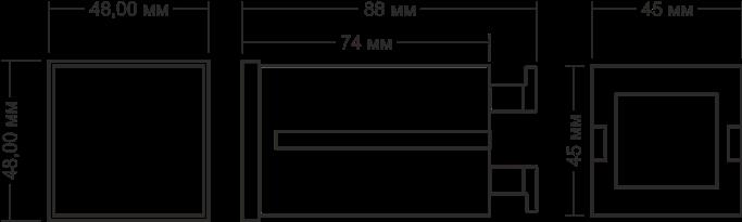 Габаритные размеры РСИ-П4-10