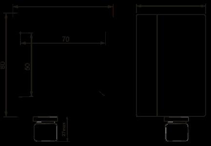Габаритные размеры СИМ-05ч-2-17
