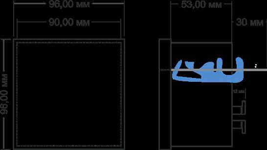 Габаритные размеры СИМ-05т-1-09