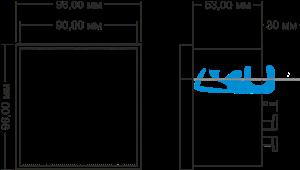 Габаритные размеры СИМ-05т-5-09