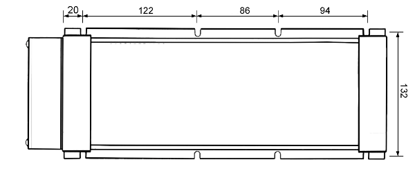 Габаритные размеры ТРМ-2