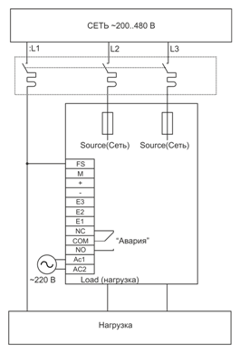 Схема подключения W5-TZ4V