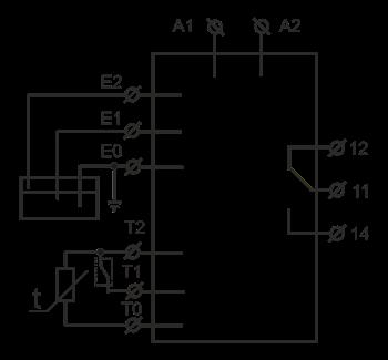 Схема подключения РЗН-1М