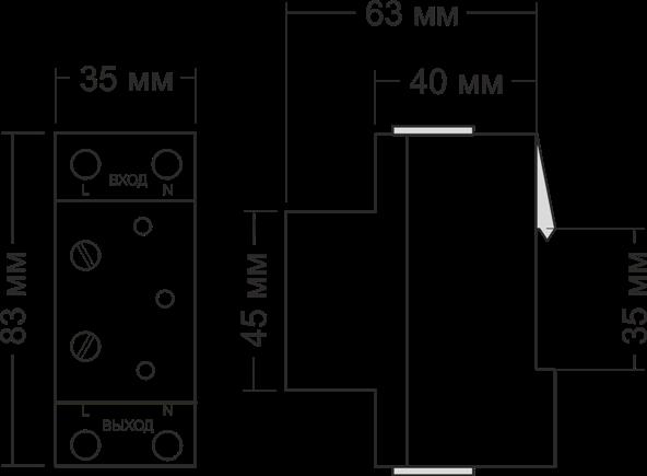 Габариты УЗМ-16