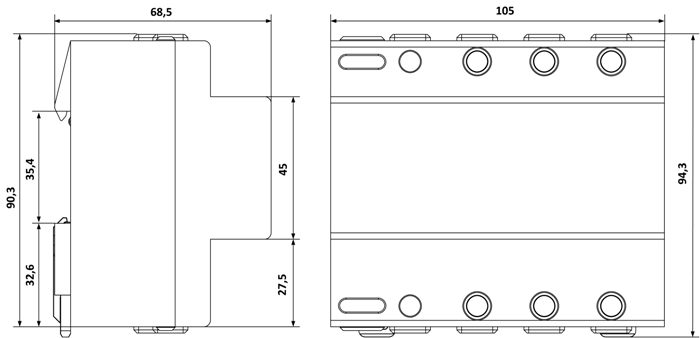 Габариты УЗМ-3-63