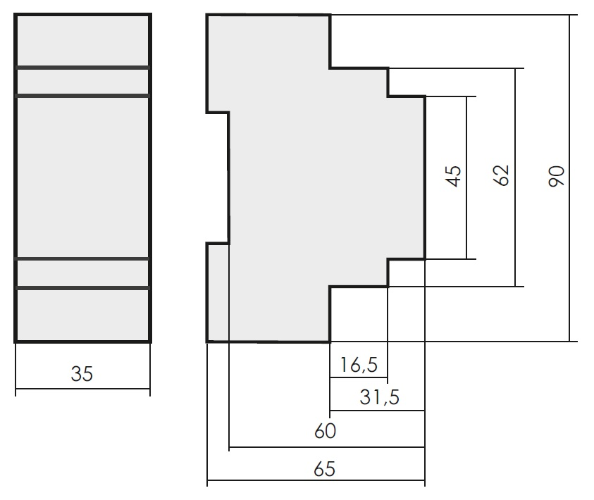 Габариты pcz-525-3