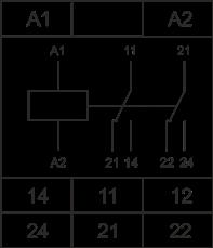 Схема подключения РКН-1-2-15