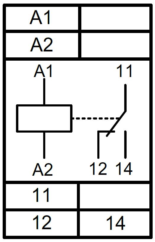 Схема подключения РКН-1М