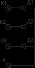 Схема подключения МД-3М-2