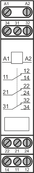 Схема подключения МРП-3-1