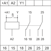 Схема подключения РВЦ-08