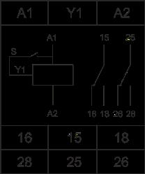 Схема подключения РВЦ-Р-15