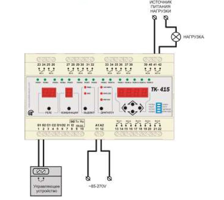 Схема ТК-415