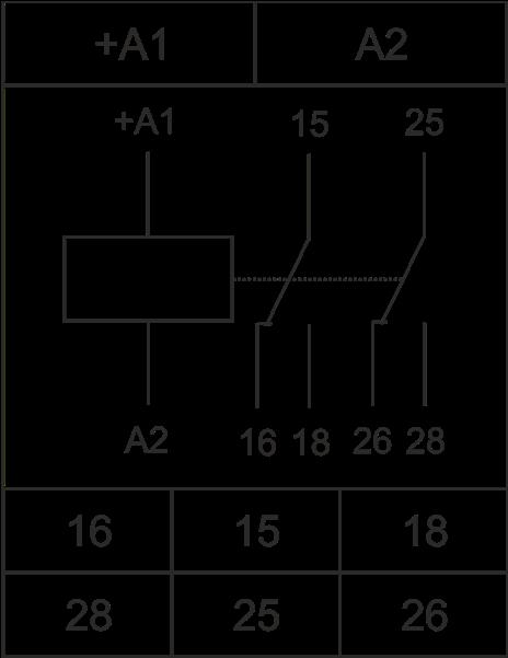 Схема подключения РВО-П2-26