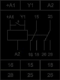 Схема подключения РВО-П2-М-15