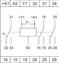 Схема подключения РВО-П3-081
