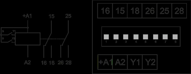 Схема подключения РВО-П3-10
