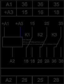 Схема подключения РВ3-22