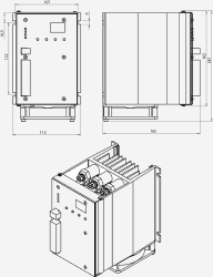 Габаритные размеры ТРМ-3М