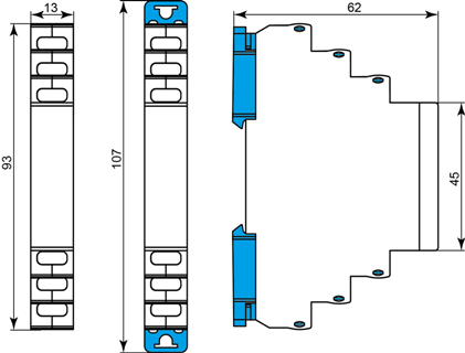 Габаритные размеры МД-6