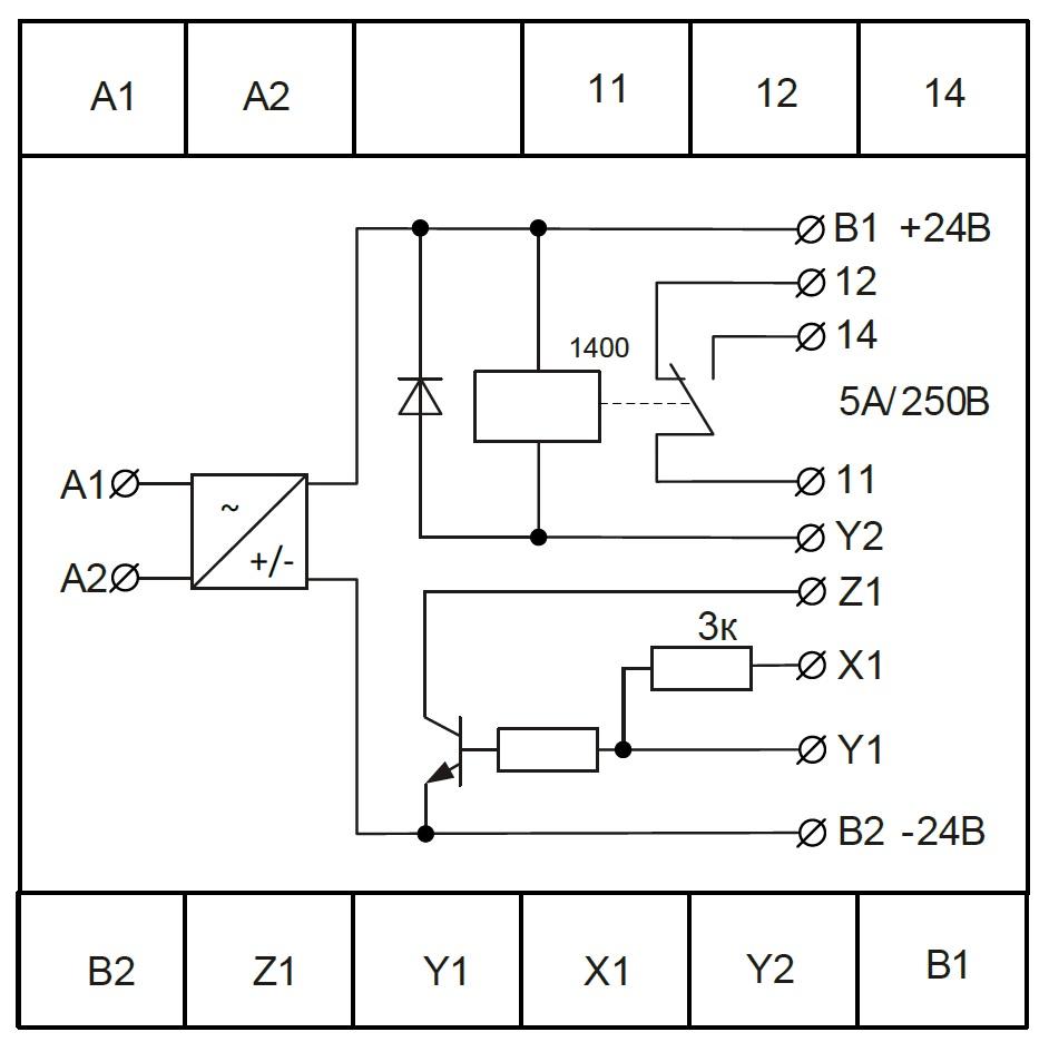 Схема подключения БПУ-2